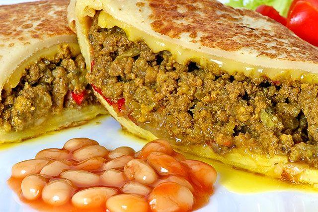 Delicioso burrito mexicano
