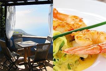 Buenas vistas y alta cocina en el Restaurante Azul