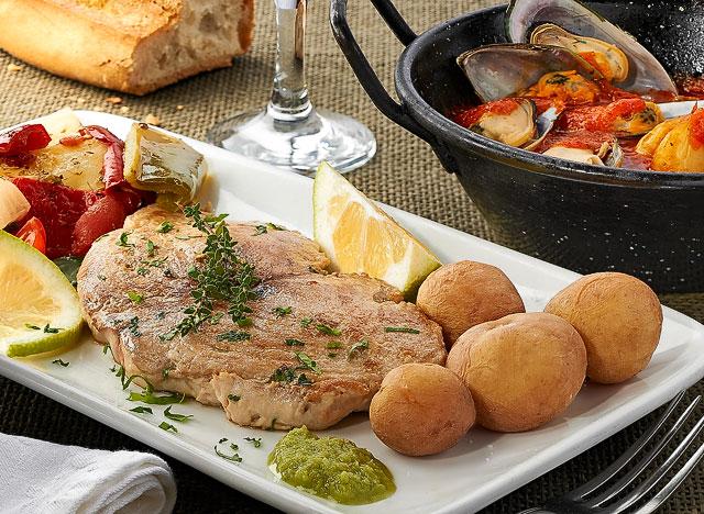 Pescado del Restaurante Taberna del Puerto