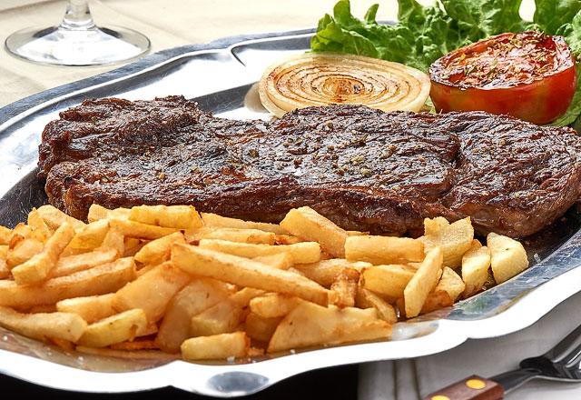 El steak del restaurante Casa Kiko