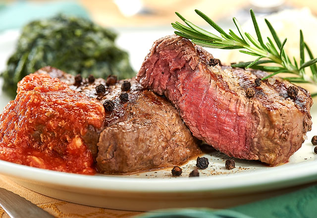 Steak del restaurante San Petronio