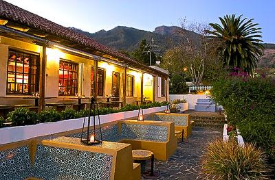 La terraza del restaurante San Petronio