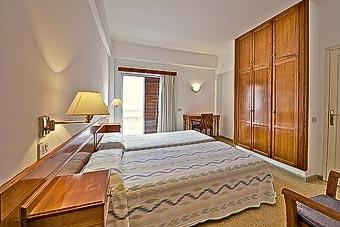 Ejemplo de habitación en el Hotel Edén