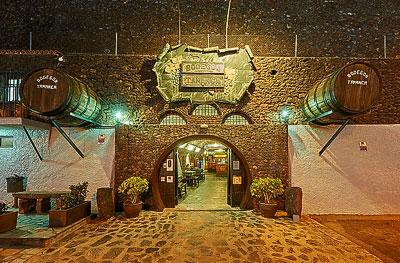 Las bodegas / el restaurante Tamanca