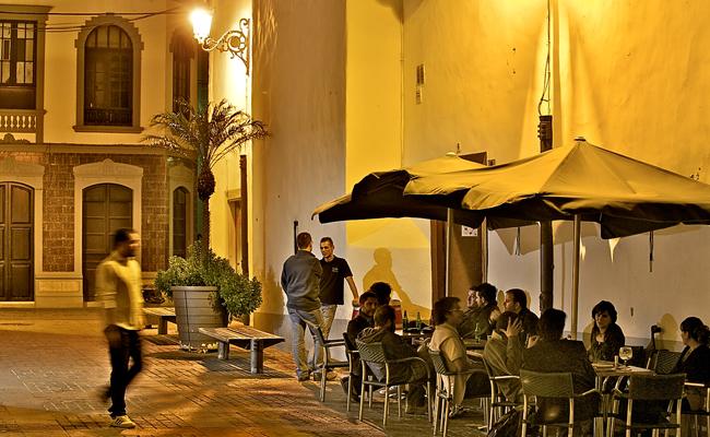 Eine Nacht in Santa Cruz de La Palma