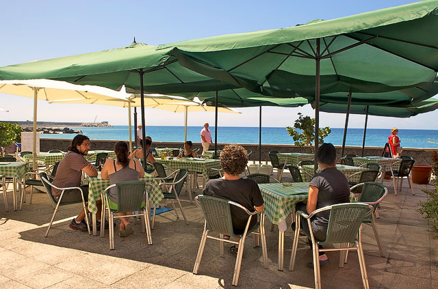 Italienisches Restaurant Già Stà? in Puerto de Tazacorte