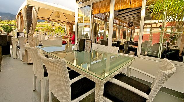 Terraza del restaurante El Rinconcito